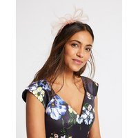 M&S Collection Textured Fascinator Bow