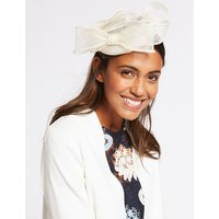 M&S Collection Pillbox Bow Fascinator
