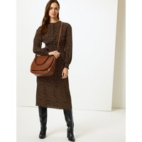 MandS Collection Leather Saddle Shoulder Bag