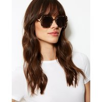 M&S Collection Metal Glam Square Sunglasses