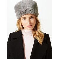 M&S Collection Faux Fur Cossack