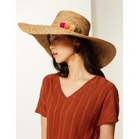 MandS Collection Brim Flat Top Sun Hat
