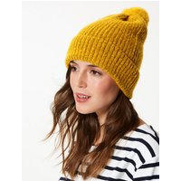 M&S Collection Textured Spongy Beanie Hat