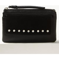 M&S Collection Leather Soft Studded Purse