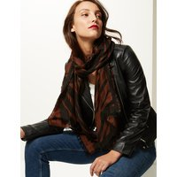 M&S Collection Animal Print Scarf