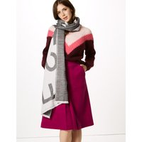 M&S Collection Printed Scarf