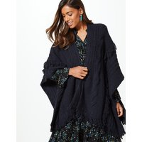 M&S Collection Textured Fringe Wrap