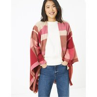M&S Collection Checked Wrap