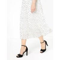 Ankle Strap Stiletto Heel Sandals black
