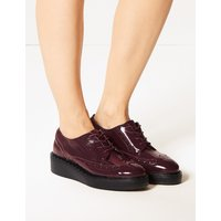 Twiggy for M&S Collection Leather Brogue Shoes