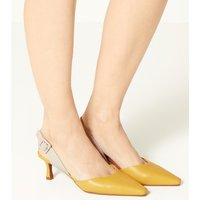M&S Collection Kitten Heel Slingback Shoes