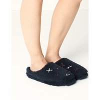 M&S Collection Mule Slippers