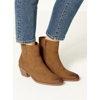 M&S Collection Almond Toe Ankle Boots