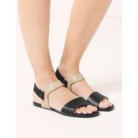 M&S Collection Elastic Ring Detail Sandals