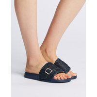 M&S Collection Glitter Sliders