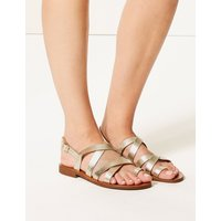 M&S Collection Buckle Strappy Loop Sandals