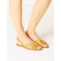 M&S Collection Cross Over Strap Sandals