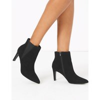 Chelsea Stiletto Heel Ankle Boots black