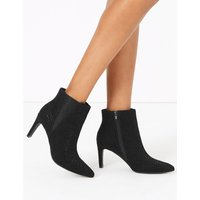 Stiletto Heel Chelsea Ankle Boots black