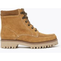 MandS Collection Leather Hiker Lace Up Walking Boots