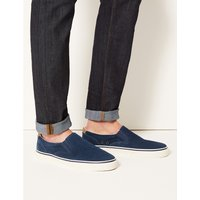 M&S Collection Suede Slip-on Pump Shoes with Freshfeet