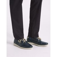 M&S Collection Leather Lace-up Derby Shoes with Airflex