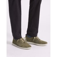 M&S Collection Suede Lace-up Derby Shoes with Airflex