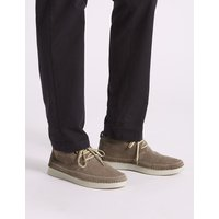M&S Collection Suede Lace-up Chukka Boots with Airflex
