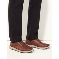 M&S Collection Suede Lace-up Derby Shoes