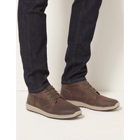 M&S Collection Lace-up Chukka Boots
