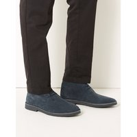 MandS Collection Suede Lace-up Desert Boots