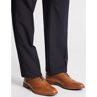 M&S Collection Big & Tall Leather Lace-up Brogue Shoes