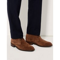 MandS Collection Suede Lace-up Chukka Boots