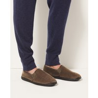 Velour Pull-on Slippers with Thinsulate