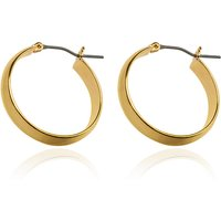 M&S Collection Gold Plated Simple Hoop Earrings