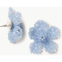 M&S Collection Woven Flower Stud Earrings