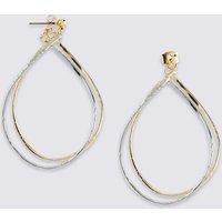 M&S Collection Link Teardrop Earrings