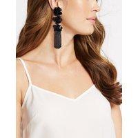 M&S Collection Triple Flower Shower Drop Earrings