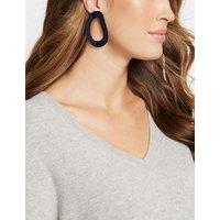 M&S Collection Wavy Shape Drop Earrings