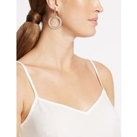 M&S Collection Linked Circle Drop Earrings