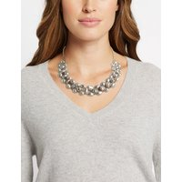 M&S Collection Fresh Water Pearl Ladder Collar Necklace