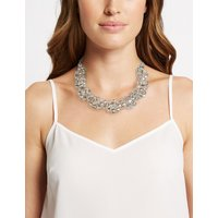 M&S Collection Glass Beaded Collar Necklace