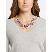 M&S Collection Flower Collar Necklace