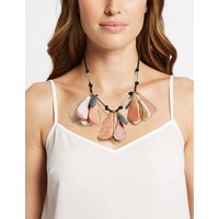 M&S Collection Glitter Petal Necklace