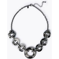M&S Collection Circle Link Collar Necklace