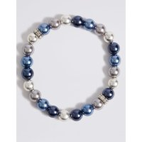 M&S Collection Coloured Pearl Bracelet