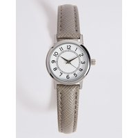 M&S Collection Simple Round Face Mini Watch.