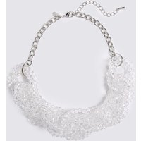 MandS Collection Glass Chain Collar Necklace