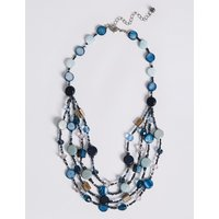 M&S Collection Shell Layered Necklace
