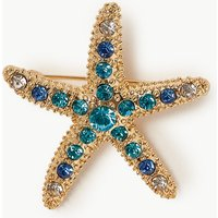 M&S Collection Starfish Brooch